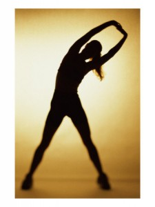 exercise silouette